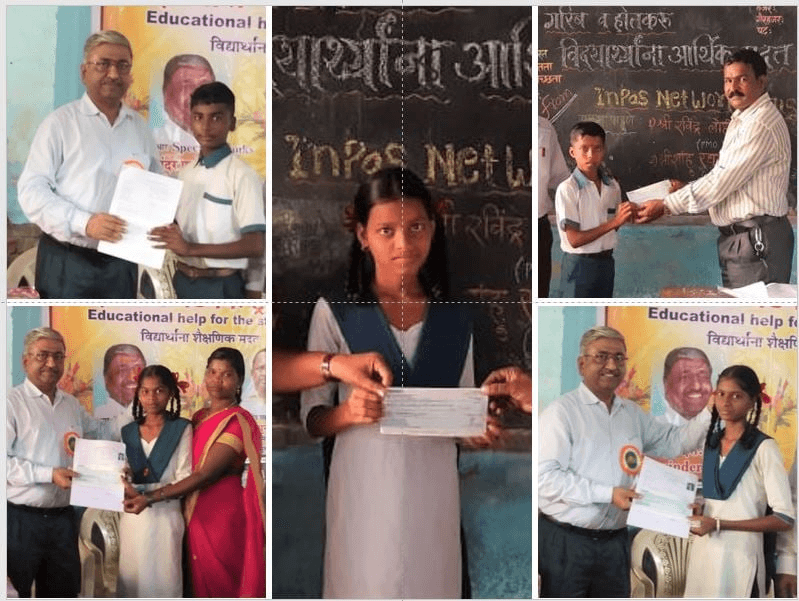 5 Rural Students School Education Fees Sponsored By Ajay Patel