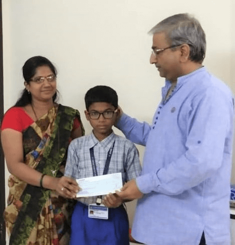 Education fees sponsored by Sanjay Narain Mathur