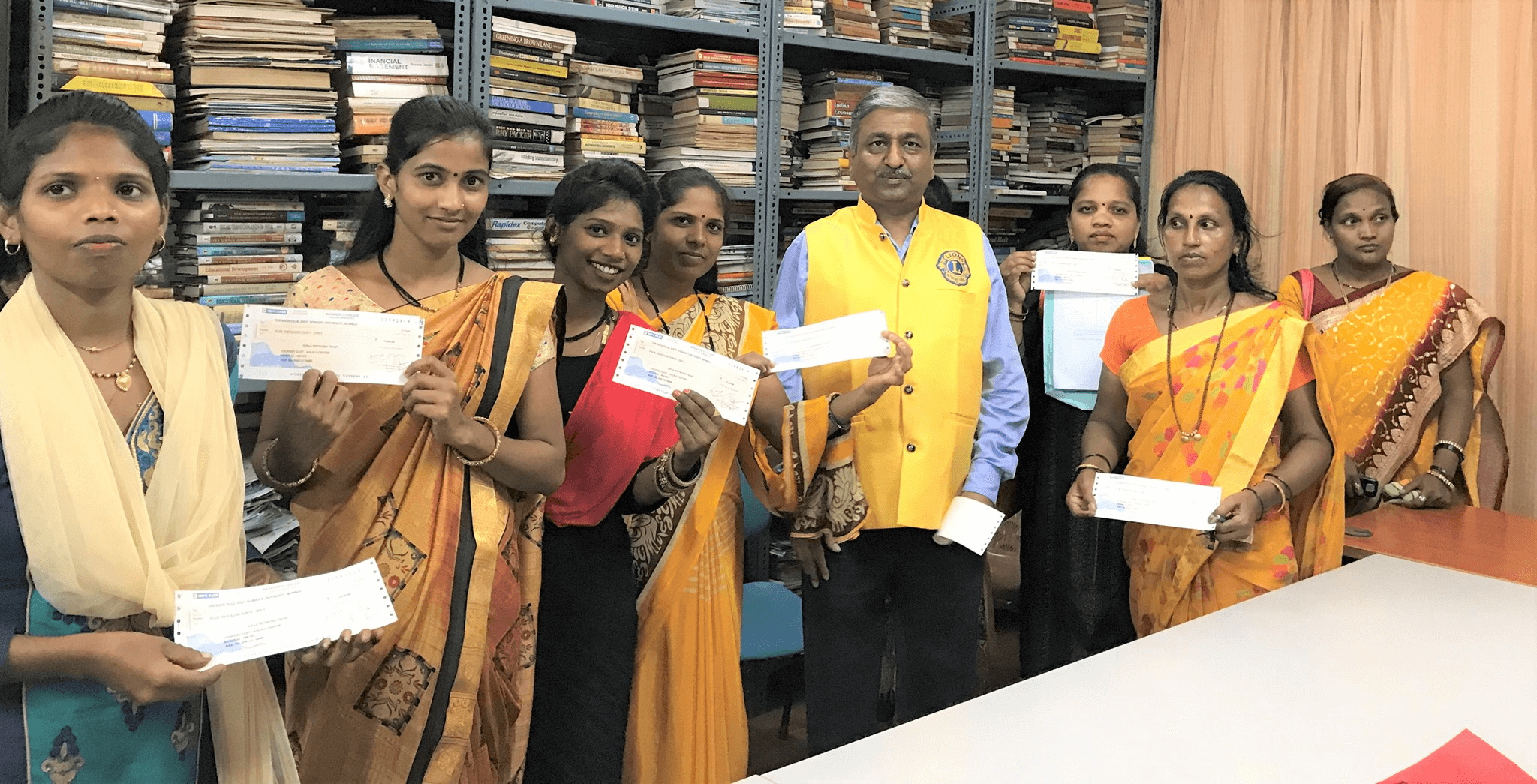 10 Women Students Study Sponsored